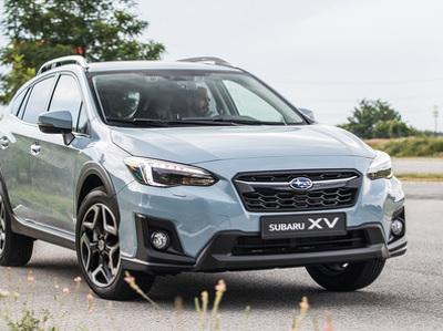 Названы сроки появления в России нового кроссовера Subaru
