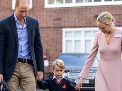 В школу принца Джорджа пытались вломиться