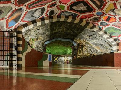 MetroConcertArt: Дом музыки приглашает в путешествие по метро Стокгольма