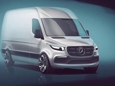 Новый Mercedes-Benz Sprinter: первое изображение и сроки выхода