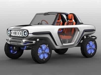 В Suzuki разработали электрический багги