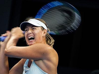 Мария Шарапова вышла в полуфинал турнира в Тяньцзине