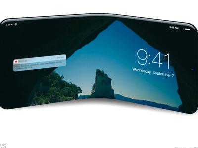 """СМИ: Apple и LG создадут складной """"айфон"""""""