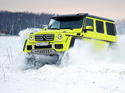 Mercedes завершает производство своего эксцентричного внедорожника