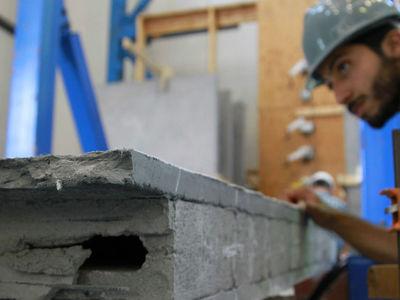 Новый бетон защитит старые здания от землетрясений
