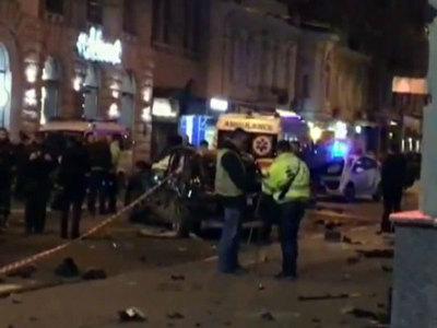 За рулем внедорожника, протаранившего толпу в Харькове, была мажорка