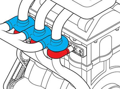 Бывший инженер Ford предложил ставить по одной турбине на каждый цилиндр