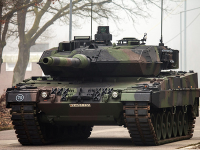 СМИ: немецкие танки Leopard к бою не готовы