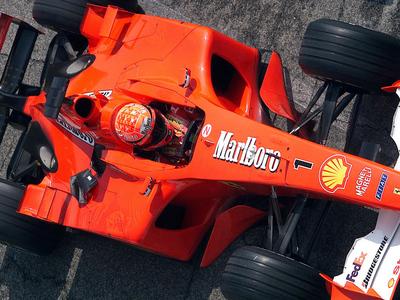 Чемпионский болид Шумахера продан за рекордную сумму