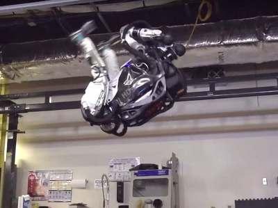 Робот-гуманоид Atlas освоил обратное сальто