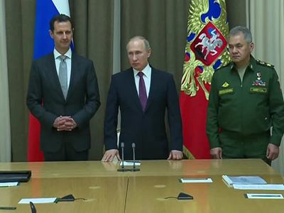 Асад увидел тех, кто спас Сирию