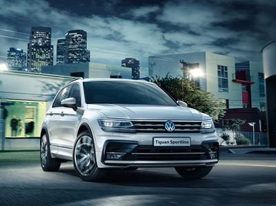 """В России начали продавать """"спортивный"""" Volkswagen Tiguan"""