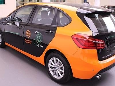 В московском каршеринге появились редкая модель BMW