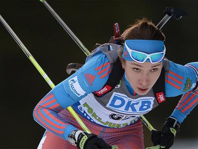 Биатлонистка Кайшева: не ожидала победы в первой гонке