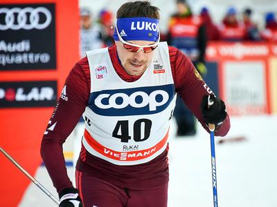 Лыжник Сергей Устюгов стал вторым в гонке преследования