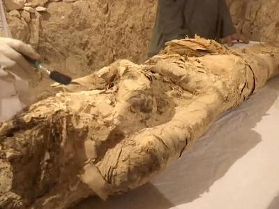 В Египте археологи нашли мумию возрастом более трёх тысяч лет
