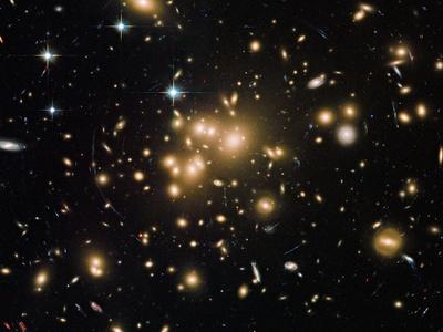 Астрономы создали трёхмерную карту движения почти полутора тысяч галактик
