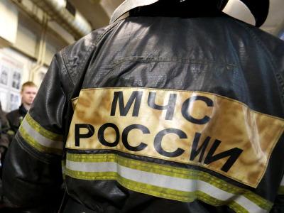 В Новой Москве произошел пожар на территории воинской части