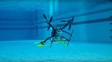 Инженеры из Университета Ратгерса разрабатывают беспилотник, который способен и летать, и работать под водой