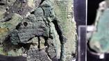 Фрагмент календаря затмений на задней панели Антикитерского механизма. Фото: The Antikythera Mechanism Research Project / namuseum.gr