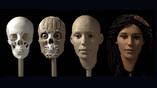 """Этапы реконструкции внешности древнеегипетской мумии """"Меритамун"""". Кадр из видео The University of Melbourne / Youtube"""