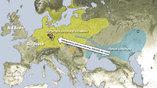 """Иллюстрация """"степной гипотезы"""" о вторжении ямников в Европу 5000-6000 лет назад. Рисунок: Wolfgang Haak"""