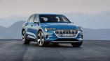 Audi назвала российские цены на электрокроссовер e-tron