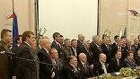 На торжественную встречу, посвященную юбилею полета, в посольство Чехии в Москве пришли люди, за плечами которых своя героическая история покорения космоса