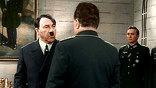 Фильм еще и переозвучен. В сцене, которая звучала только голосом Капеляна, теперь заговорил Гитлер: нашли его речь, которую озвучил немецкий актер