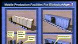Другая иллюстрация - рисунок передвижной лаборатории, которую иракцы якобы прячут в подземных гаражах