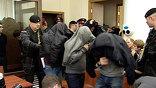"""К срокам от 4 до 7 лет заключения приговорены в четверг в Москве шесть участников экстремистской группировки """"Черные ястребы"""". Они признаны виновными в нападении на двух студентов на национальной почве"""