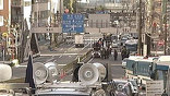 В некоторых районах столицы сосредоточены усиленные наряды полиции и спецназа