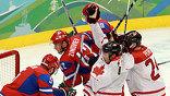 Олимпиада. Хоккей Канада - Россия (фото EPA)