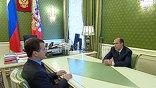 О поимке бандита директор ФСБ Александр Бортников доложил президенту Дмитрию Медведеву