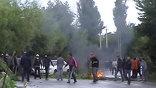 Столкновения между этническими киргизами и узбеками временно прекратились
