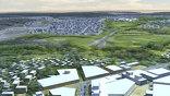 Чем-то вроде туристического центра, куда будет прибывать поезд, станет гостевая зона, там - конгресс-холл, бизнес-центр, гостиничные комплексы с обязательными пандусами для инвалидов и культурные центры.