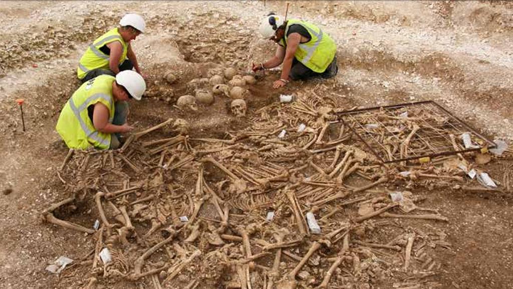 Массовое захоронение эпохи викингов в Дорсете