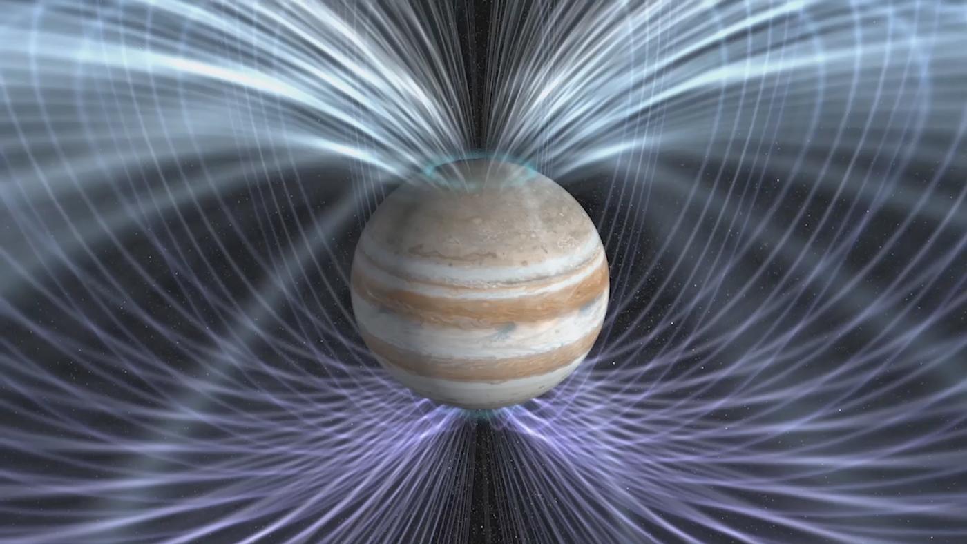 Космический аппарат Juno вышел наорбиту Юпитера