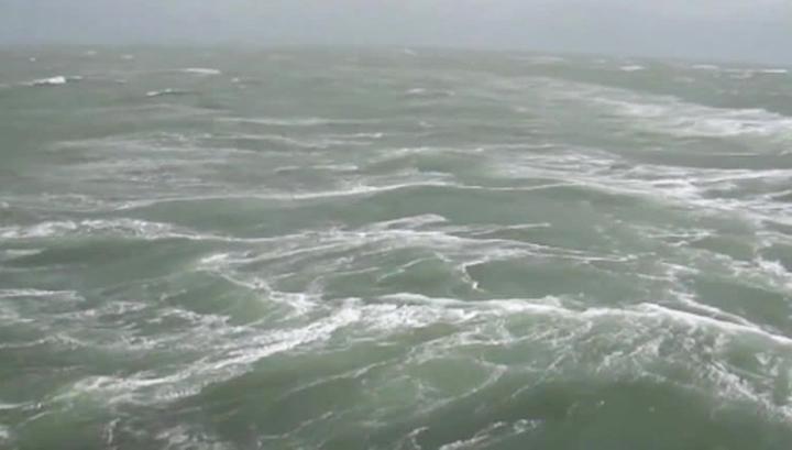 В акватории Берингова моря объявлено штормовое предупреждение
