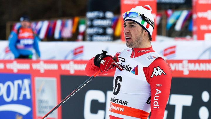 Лыжник Пеллегрино выиграл спринт этапа Кубка мира в Норвегии