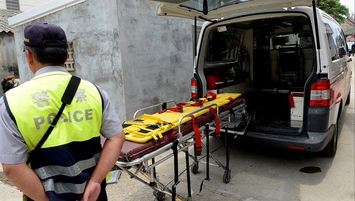 В Китае разбился вертолет со спасателями