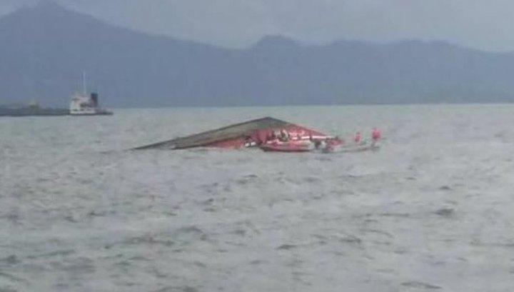 Паром, затонувший у берегов Кирибати, перевозил 88 человек