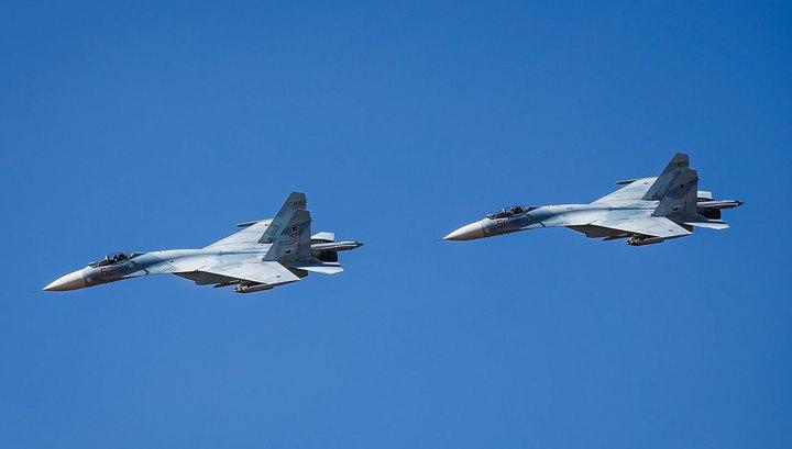 CNN: российский СУ-27 приблизился к самолету ВМС США над Балтикой