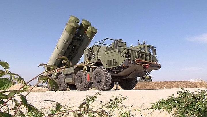 РФсогласовала сТурцией договор напоставку ЗРК С-400 «Триумф»