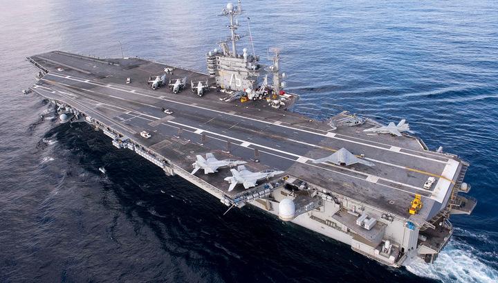"Пентагон хочет оставить авианосец ""Гарри Трумэн"" у берегов Сирии"
