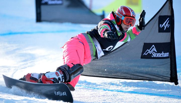 Российские сноубордисты завоевали три медали на Кубке мира