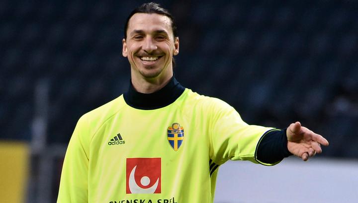 Златан Ибрагимович: теперь пускай Роналду забьет так же с 40 метров