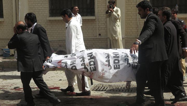 Двадцать погибших: пакистанские талибы признали ответственность за взрыв в Пешаваре
