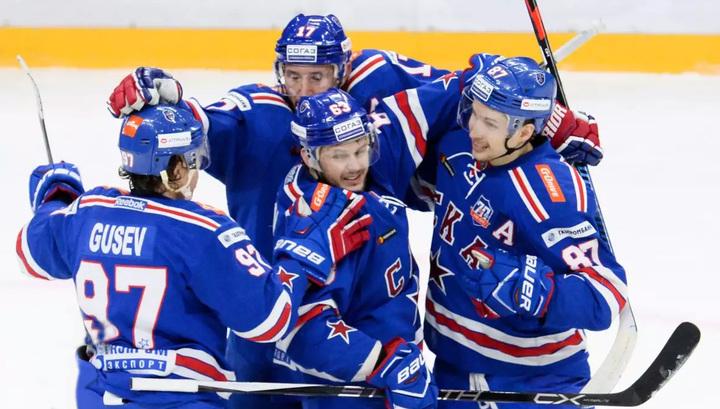 Питерский СКА досрочно выиграл Кубок континента КХЛ