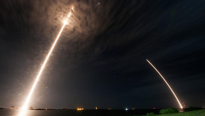 Falcon вывел испанский спутник в космос на ступени second-hand